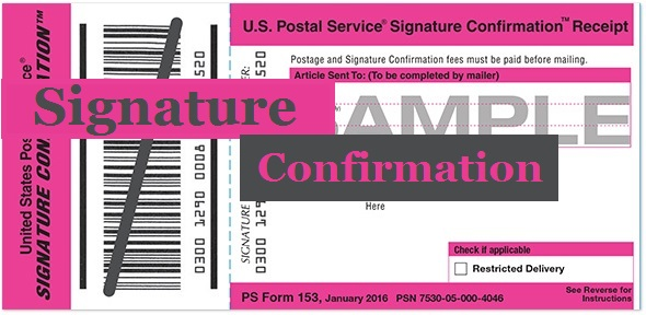 USPS-Signature-Confirmation