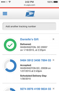 tracking over phone