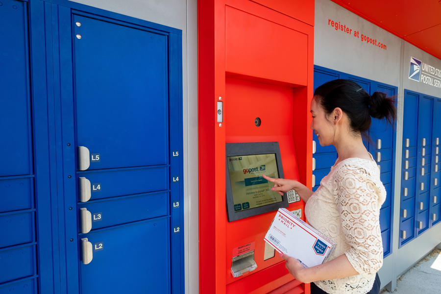 what is a parcel locker